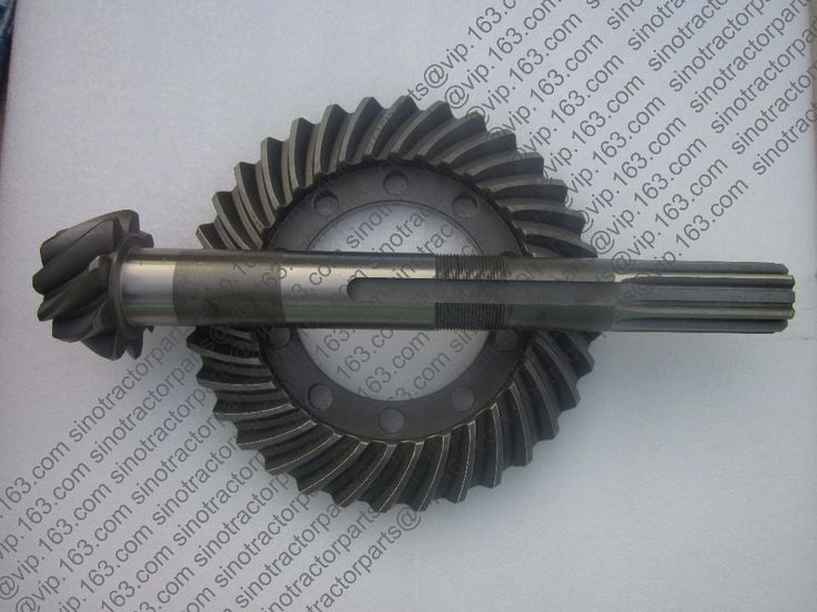 128.00$  Buy now - http://ali36j.worldwells.pw/go.php?t=32732789888 - Lenar 254 II, Mahindra Fengshou 254 II, the set of spiral bevel gear with bevel shaft, part number: 250.38.103 and 250.38.102