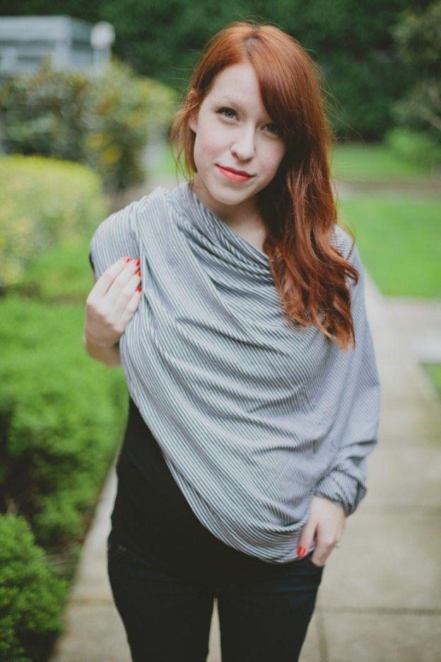 Infinity scarf nursing cover 1 yd 60 inch fabric