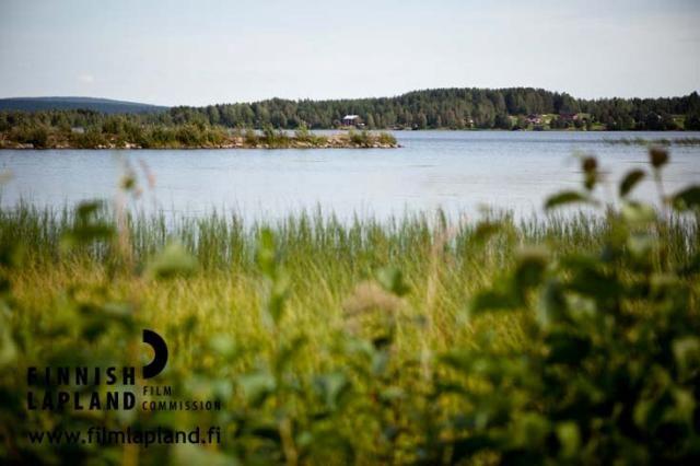 Raanujärvi village in the municipality of Ylitornio, Finnish Lapland. Photo by Jani Kärppä. #filmlapland #finlandlapland #arcticshooting