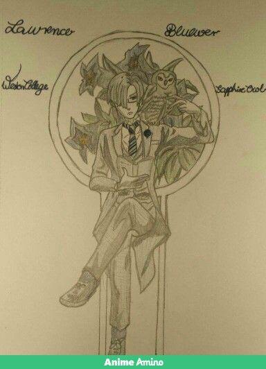 Kuroshitsuji-Lawrence Bluewer(own drawing)