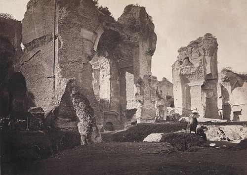 Ruins of the Thermae of Caracalla 1855 (ca)