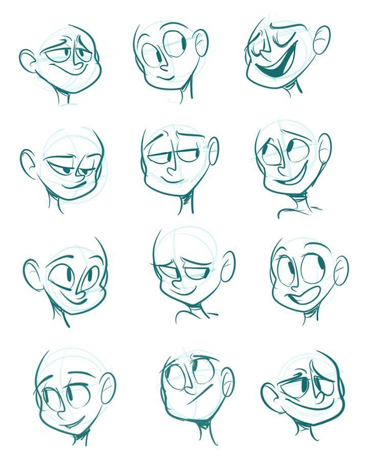 Drawing facial expressions 11
