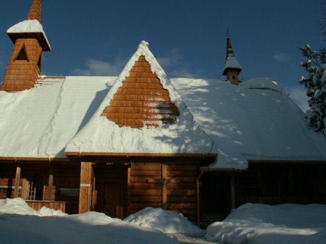 #MałeCiche zimą. #dominikanie #klasztor #tatry #zima
