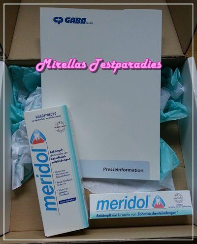 Meridol wieder im Test – Gewinnt 1 von 3 Meridol Zahnpflegepaketen.