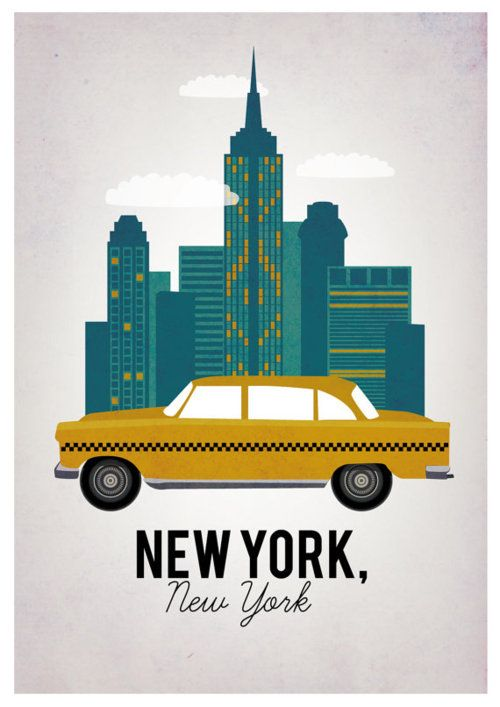 25 best ideas about new york poster on pinterest new york illustration new york skyline and. Black Bedroom Furniture Sets. Home Design Ideas