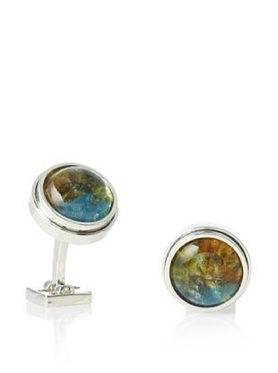 Ike Behar Artisan Pate De Verre Glass Cufflinks