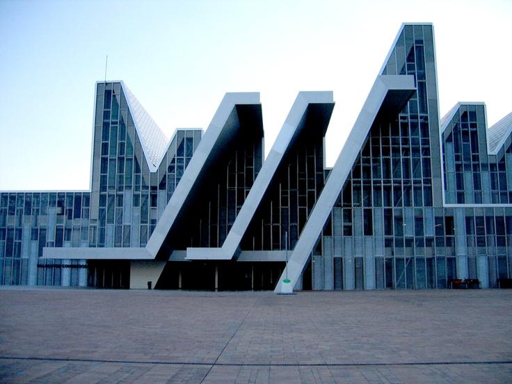 Palacio de Congresos de la Expo, by Miguel Ferrer