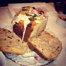 Pan dulce en hornito de pan
