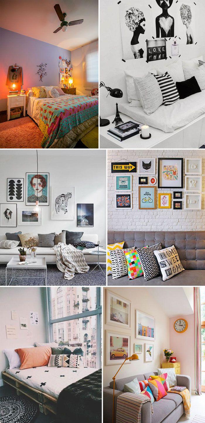 5 Dicas para renovar a decoração da sua casa ou do seu quarto sem gastar muito