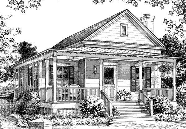 383 best cute little cottage images on pinterest cottage for Southern cottage house plans with photos