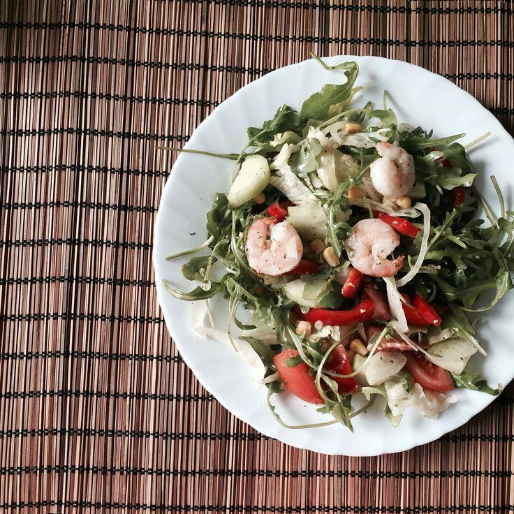 Shrimps Salad by me