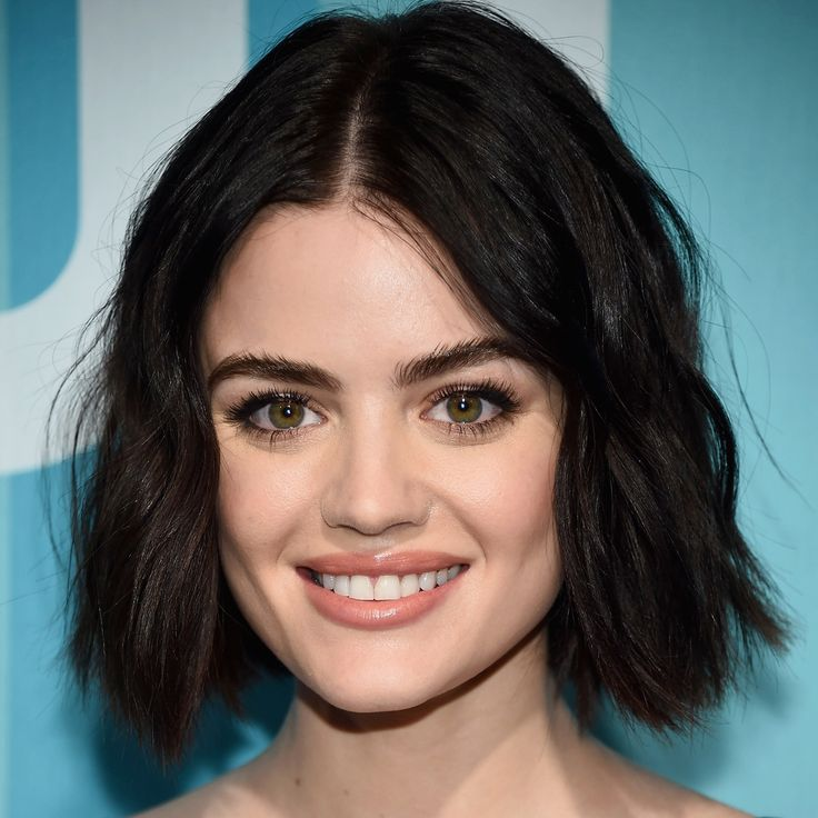 10 Celebrity Bobs That Will Make You Want to Go Short - Lucy Hale from InStyle.com