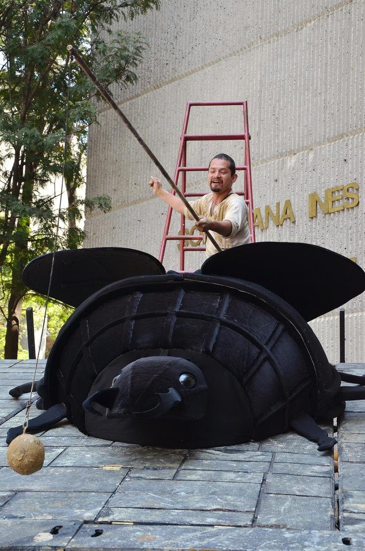 Carro de comedias, Centro Cultural Universitario de la UNAM.