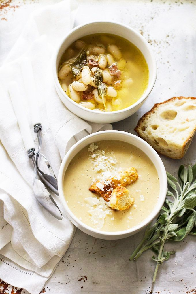 #Ricetta #bio: specialità toscana, deliziosa zuppa di fagioli cannellini. www.ecomarket.bio