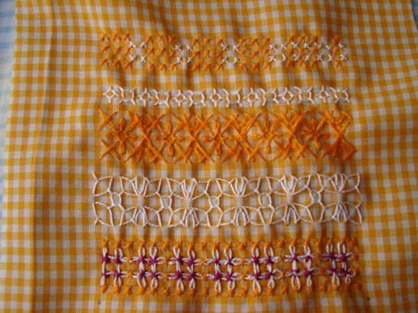 After I came from my trip to Madras,I wanted to work on my stitch challenge, before I write a post. I joined this stitch explore challenge to learn new types of embroidery I started on my challenge…