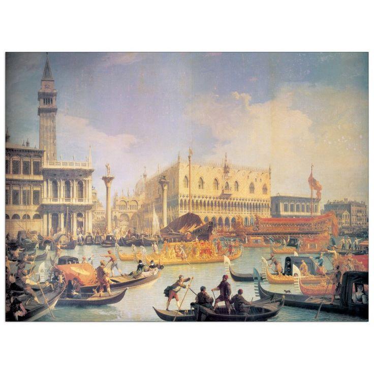 CANALETTO - VENICE (140x104 cm / 100x74 cm) #artprints #interior #design #art #prints   Scopri Descrizione e Prezzo http://www.artopweb.com/EC14929