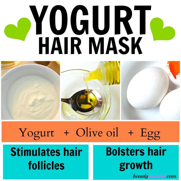 Yogurt Hair Mask Recipes for Beautiful Hair - beautymunsta