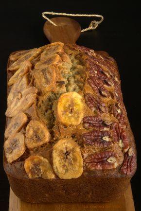 El mejor pan de platano y nuez que he probado.