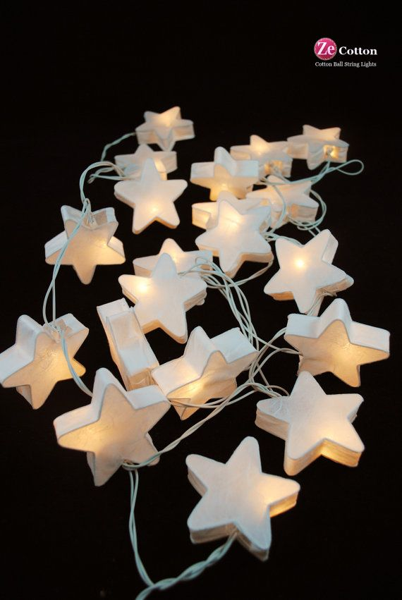 Hey, I found this really awesome Etsy listing at http://www.etsy.com/es/listing/153609421/white-star-20-mulberry-paper-string