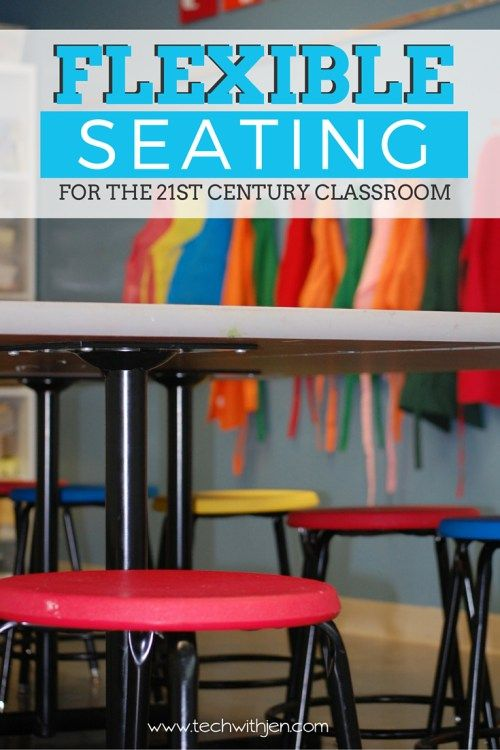 Flexible Seating for the 21st Century Classroom...includes a link to an awesome site that helps you design your classroom layout!