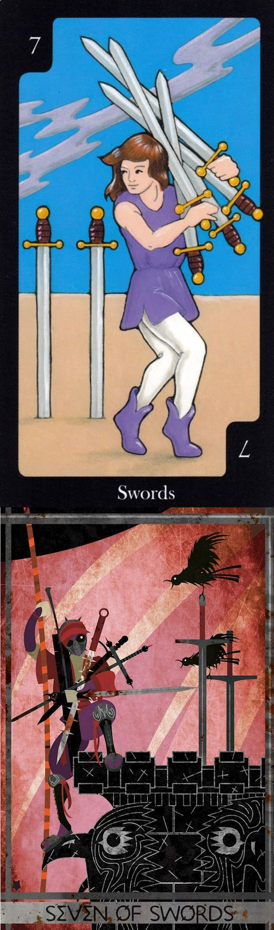Seven of Swords: pressure to be dishonest/deceptive to succeed in your ambition and become honest (reverse). Hallmark Tarot deck and Ellis Tarot deck: free online tarot reading uk, accurate tarot reading online vs tarot reading in hindi. Best 2017 tarot meanings major arcana and magic mirror.