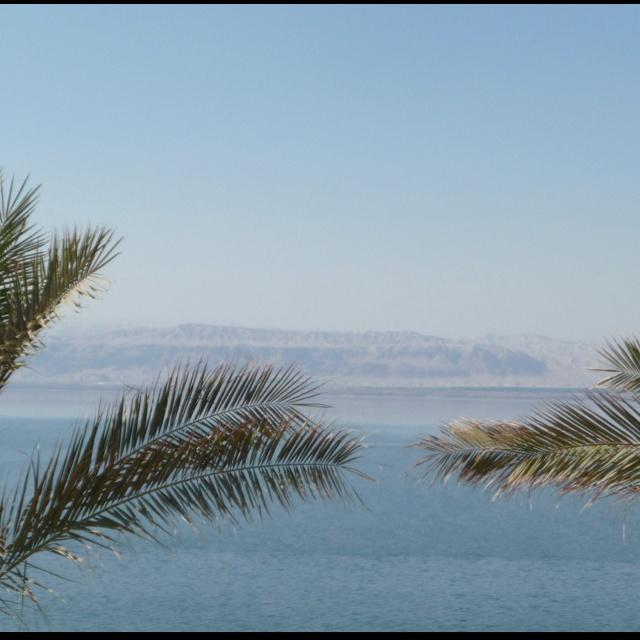 Modderbadjes nemen in de Dode Zee