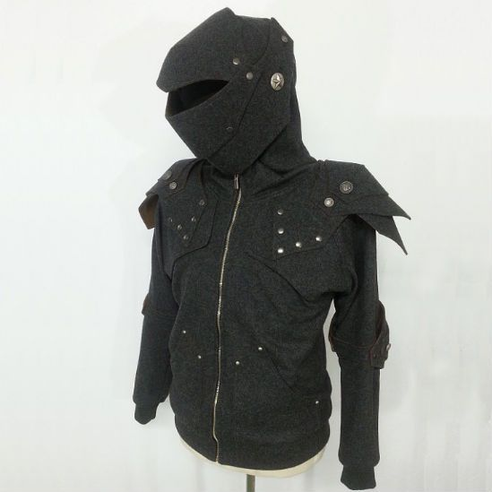 Knight armor hoodie - cool clothing