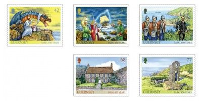 Set of 5 Stamps