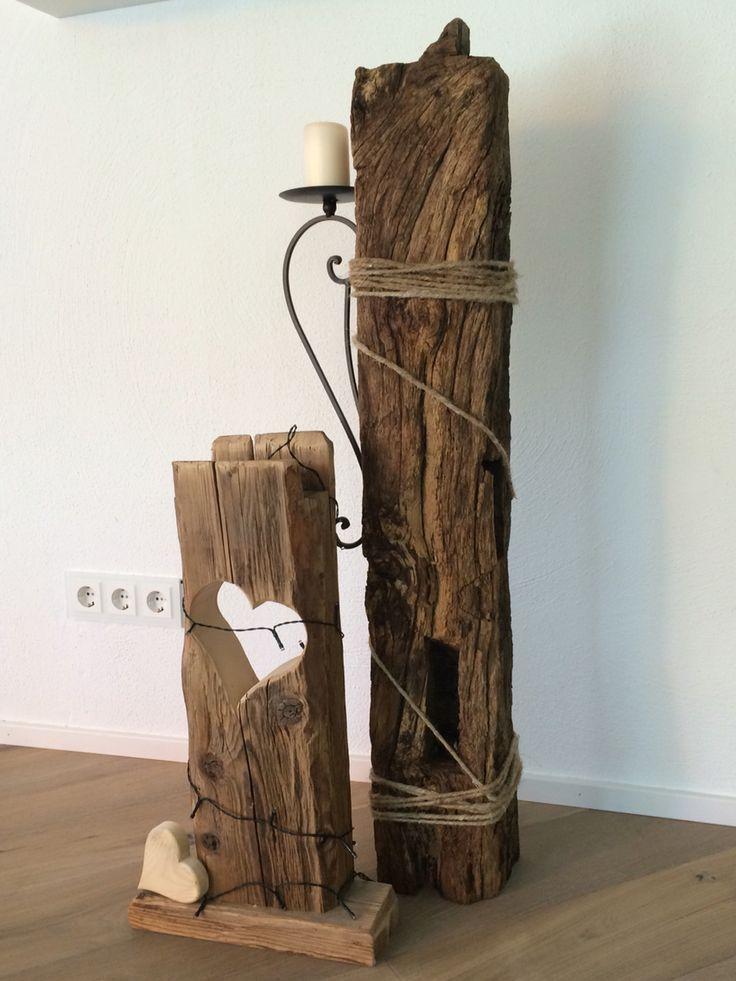 alte holzbalken 25 pinterest stehlampe holz gartenleuchten garten stehlampe. Black Bedroom Furniture Sets. Home Design Ideas