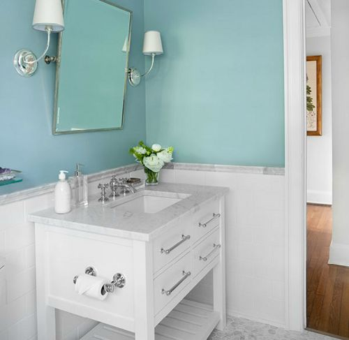 Simple Bathroom: Small Bathroom Makeovers