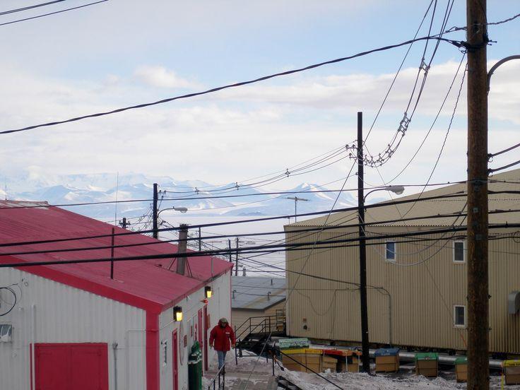 Royal Society Range - from McMurdo Station