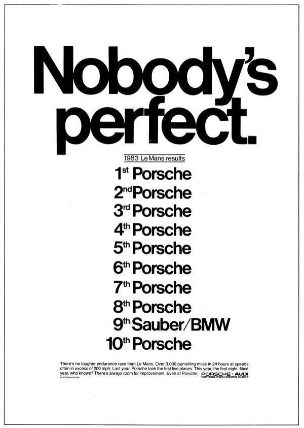 The Ten Best Automotive Print Ads Of All Time                                                                                                                                                                                 Más