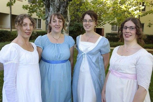 All dressed up for Canberra's Jane Austen Festival. Photo: Jeffrey Chan