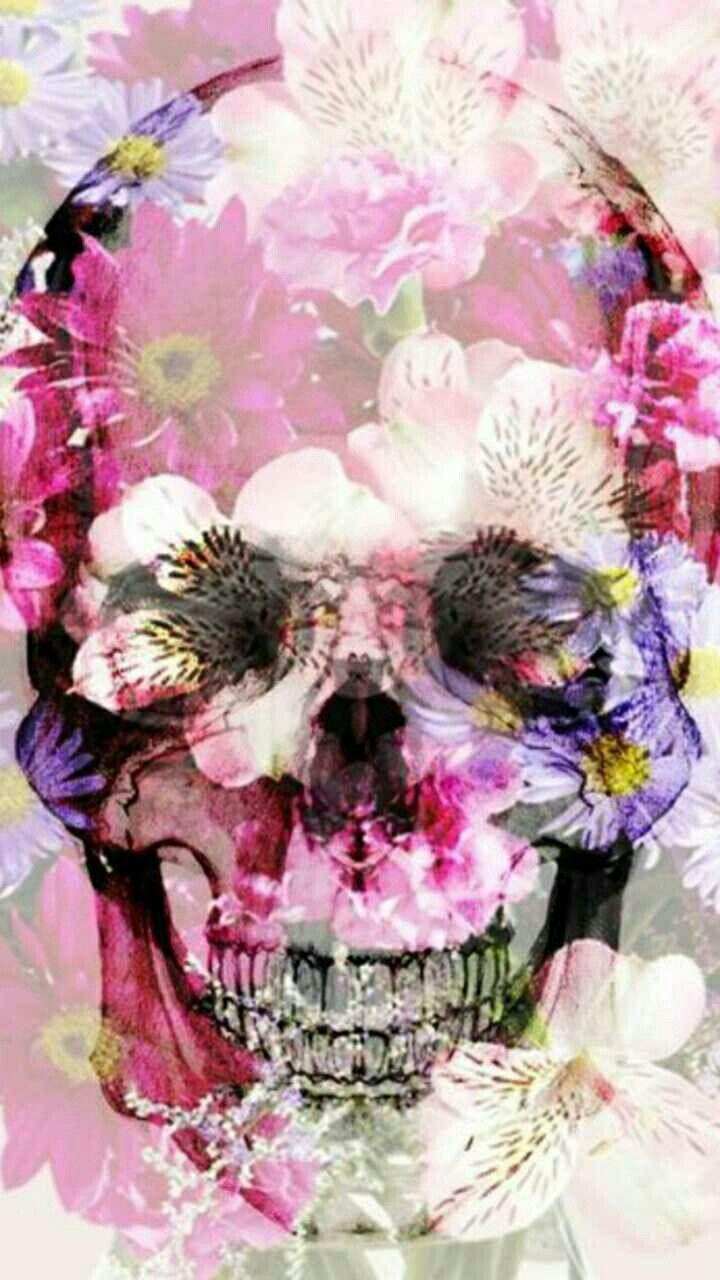 Pin By Mandy Powell On Day Of The Dead Skulls Skull Wallpaper