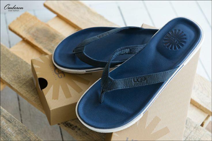Essential Summer Footwear, #UGG Flip Flops. Omberon Style Fashion. © Vicky Lafazani