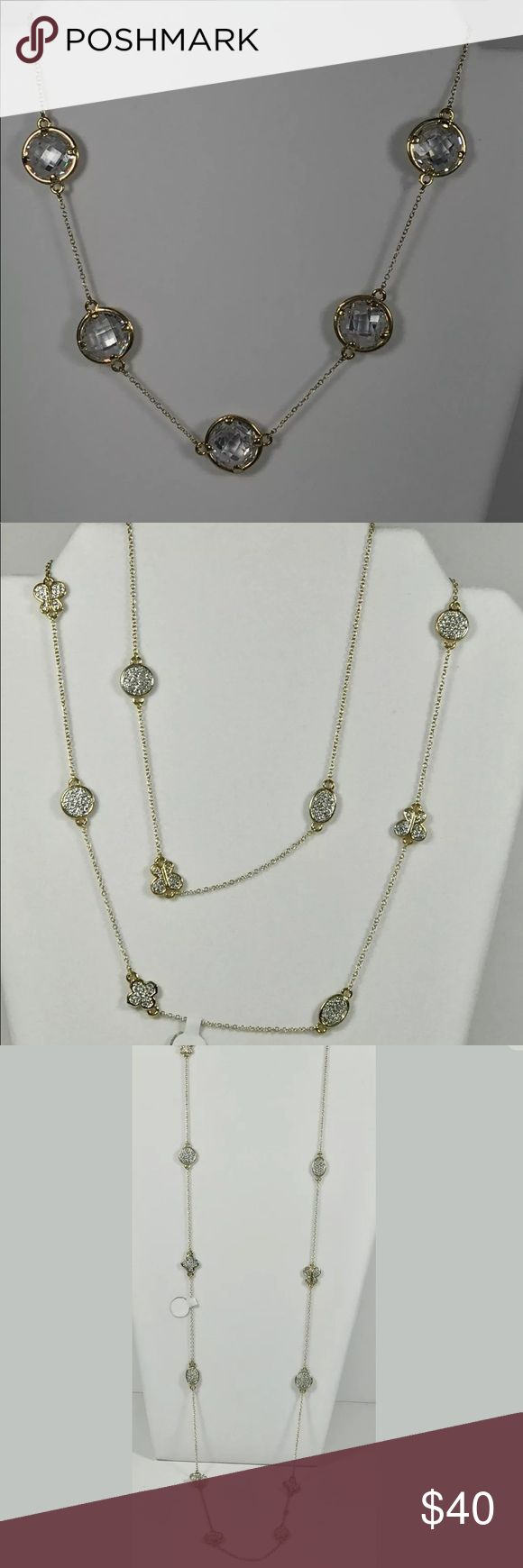 Lot of four Nordstrom long necklaces. I've been asked by a fashion jewelry wholesaler to help liquidate some of her stock for her to make room for incoming inventory. Check out my other listings as I will be listing tons of very good quality fashion jewelry at great prices. These were pieces   This listing is for 4 long necklaces. They were sold at Nordstrom for $75-100 each  They are all new  This is a great value for your own collection, for gifts or for resale Nordstrom Jewelry Necklaces