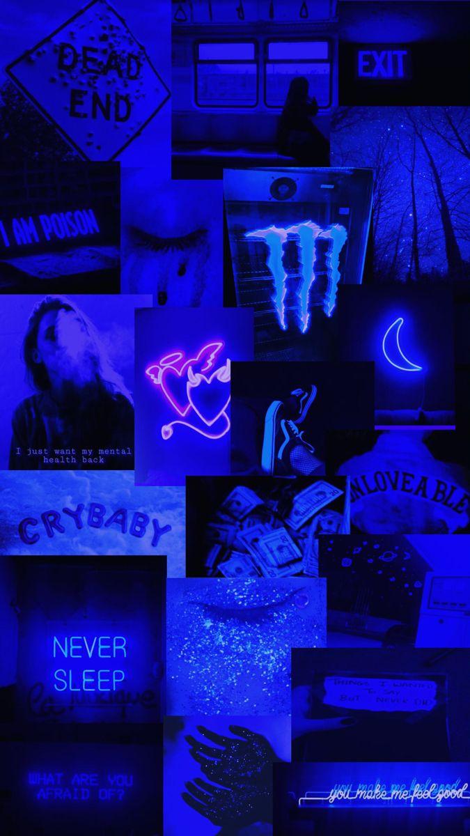 Dark Blue Wallpaper Dark Blue Wallpaper Blue Aesthetic Dark Blue Wallpaper Iphone