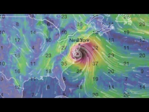 WARNING: HURRICANE IRMA PROJECTED TO HIT NEW YORK ⚠️ - YouTube