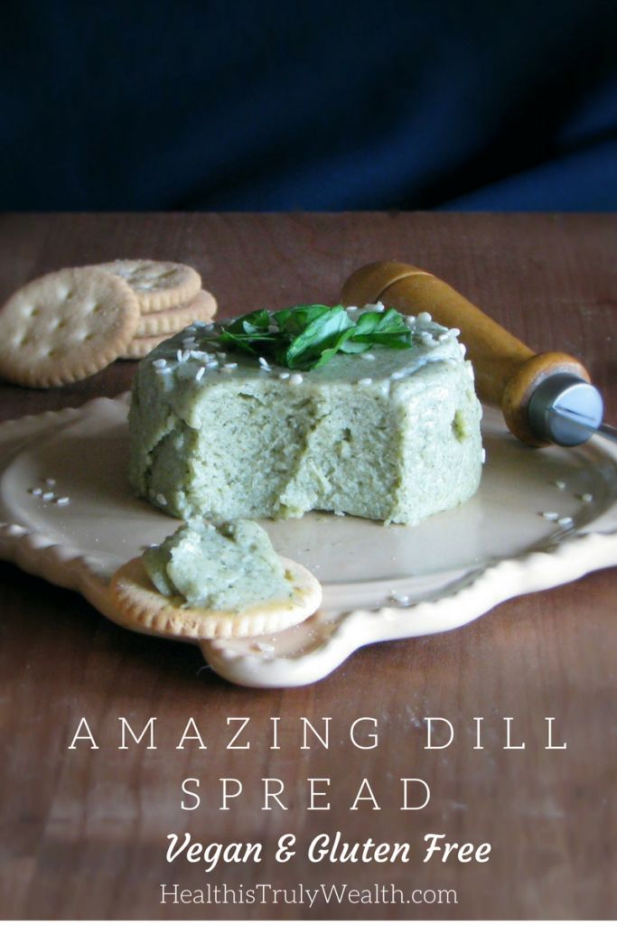 This Dill Spread is SO delicious you have to give it a try!! You dill lovers, this one is for you!