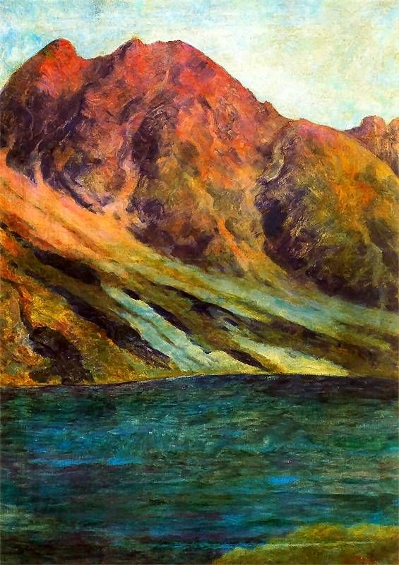 Tatra Mountains (Black lake and Granaty), 1907