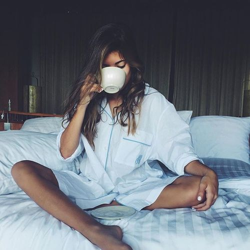 Sunday afternoons are a great time to be drinking coffee while still in bed!!! #coffee