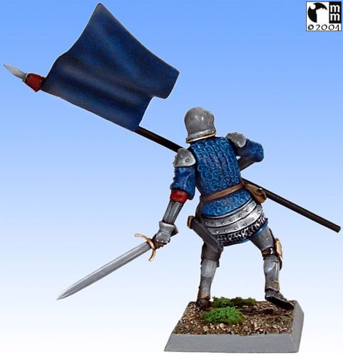 Mindstalkers: soldiers generic for factions of Milan and Venice.  Standard Bearer 02