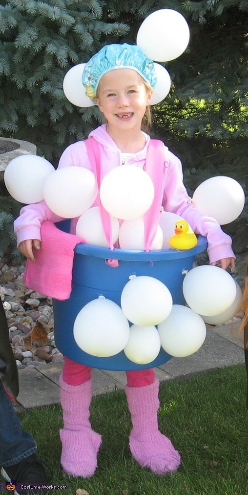 Bathtub and Bubbles Costume - Halloween Costume Contest via @costumeworks