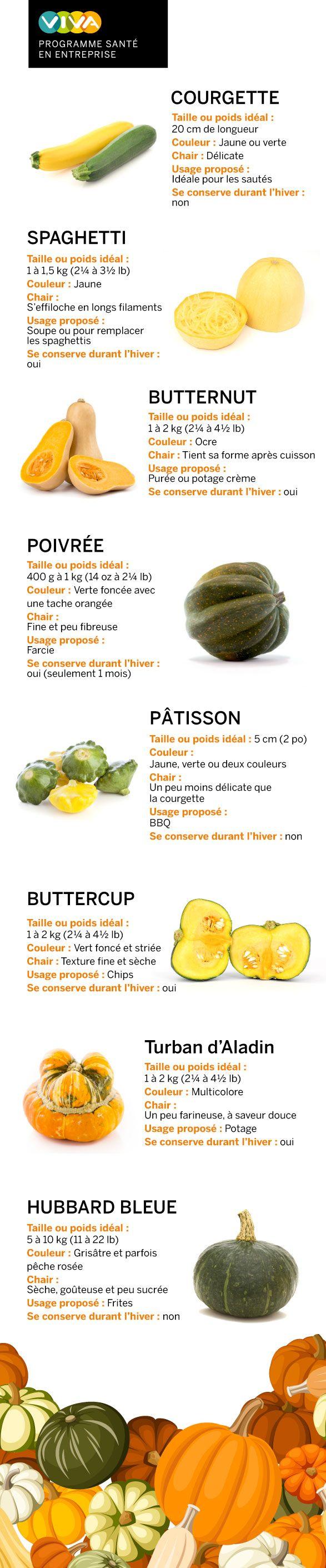 Souvent décoratives, les courges sont aussi comestibles. Notre spécialiste santé vous présente une sélection avec des idées pour les cuisiner.