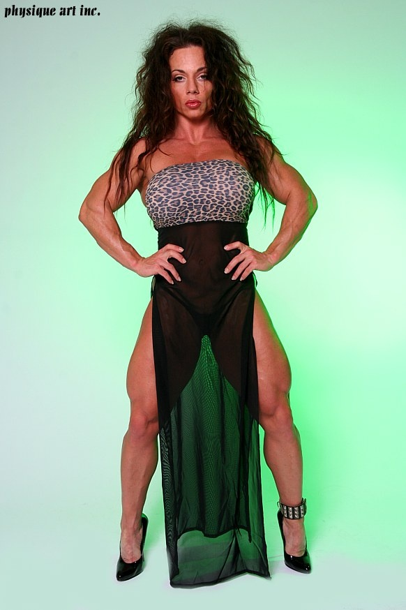 Wendy McMaster Is A Muscle Brick House -