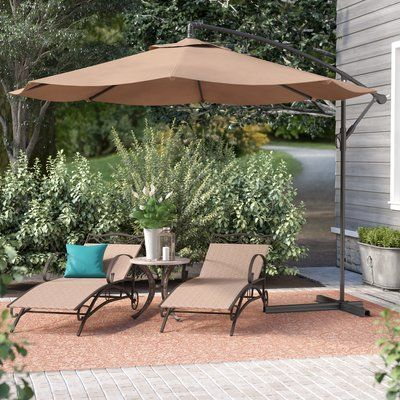 7d8ed9293005 Andover Mills Bormann 10' Cantilever Umbrella in 2019 | Products ...
