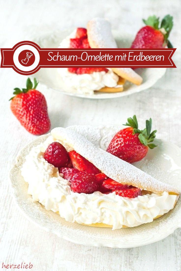 Kuchenrezepte, Dessertrezept: Rezept für einen Klassiker! Schaumomelett wie …   – herzelieb – der Foodblog mit Herz | Germany Food Blog