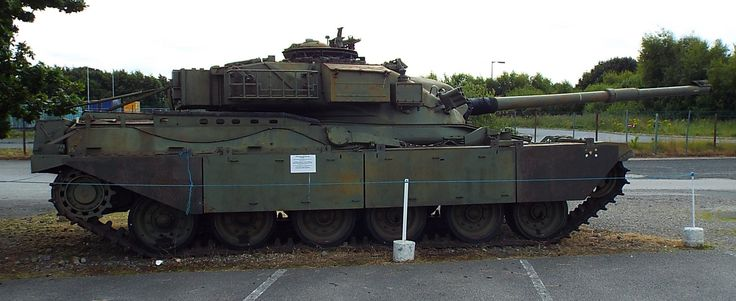 Chieftain Main Battle Tank Yorkshire Air Museum Elvington