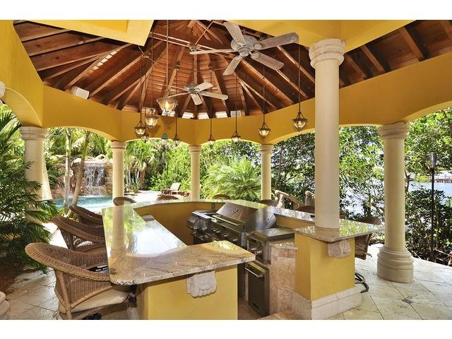 Summer Kitchen Chiki Hut Barefoot Beach Naples Florida