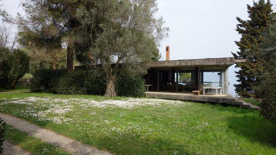 """Vittoriano Vigano Casa """"La scala"""" a Portese BS 1956"""